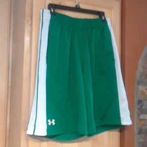 Under Armour Multicolor Basketball Gym Shorts